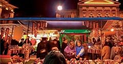 Cibulové trhy v Bernu.