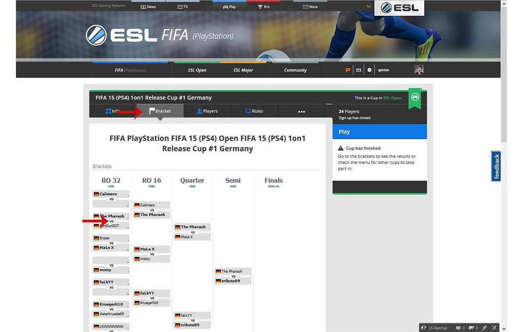 ESL FIFA 1