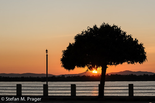 sunset southeastasia sonnenuntergang burma myanmar fluss birma moulmein mawlamyaing mawlamyine südostasien