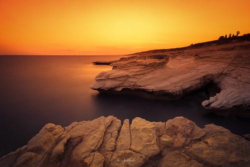 longexposure sunset magic rocks seascape sky sun whitestones water sea landscape goldenhour cyprus sony sonya6000 ilce6000 samyang samyang12mmf20ncscs haidafilters manfrottobefree