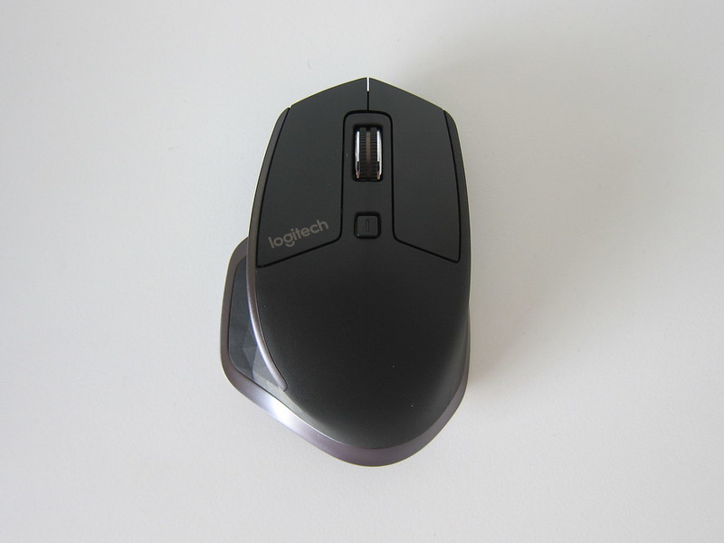 Logitech MX Master Wireless Mouse - Top