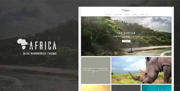 Africa WordPress Theme free download