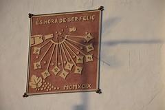 1999 - Rellotge de sol de Cal Portellé, Can Benet de la Prua
