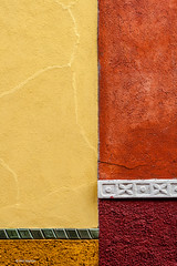 Archtectural detail - San Miguel de Allende. Mexico