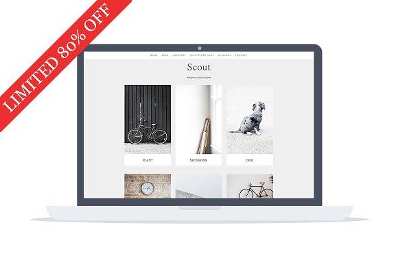 Scout v1.0.0 – Portfolio WordPress Theme