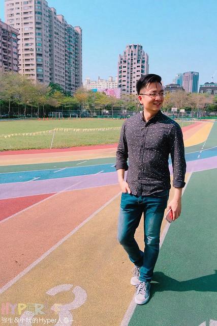 台中惠文國小彩虹跑道 (14)