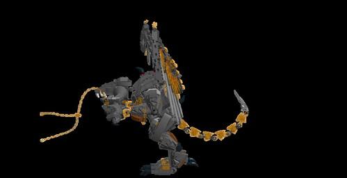 LEGO LDD MOC - Balrog 2