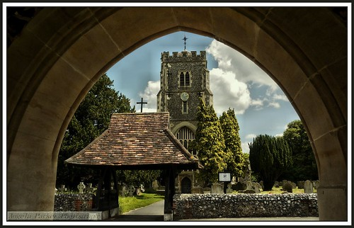 cemetery graveyards churches views churchstreet lychgate wallingtonsurrey surreychurches stmarythervirginbeddingtonsurrey