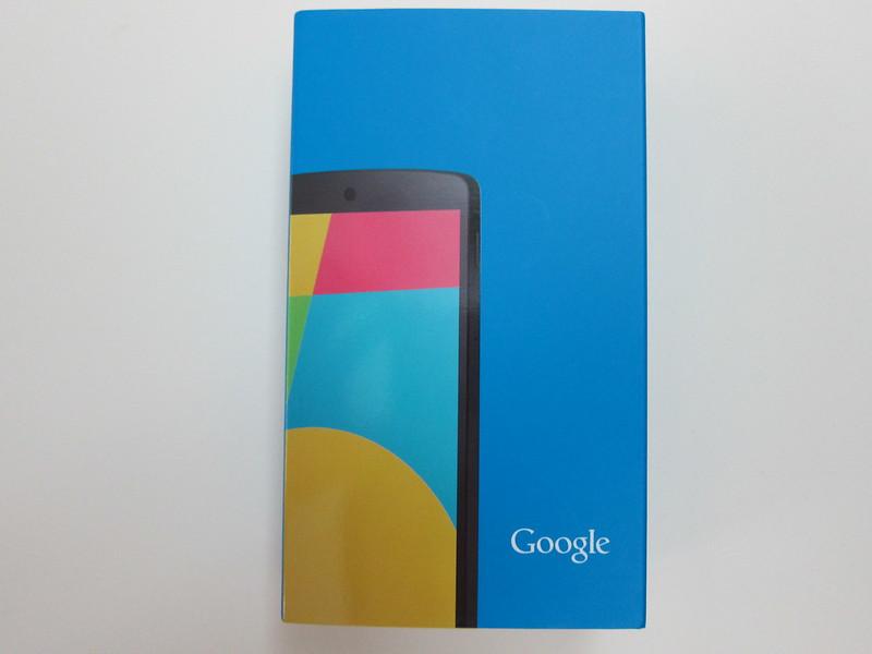 Nexus 5 - Box Front