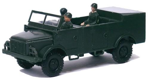 Siku Borgward Kübelwagen