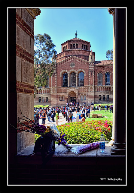 A view from Royce Hall - UCLA