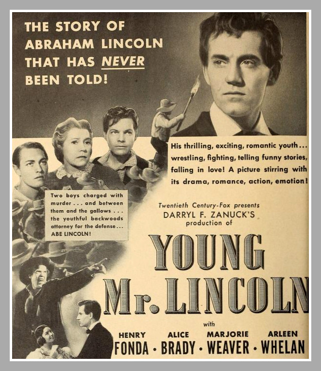1939 movie: youngmrlincoln