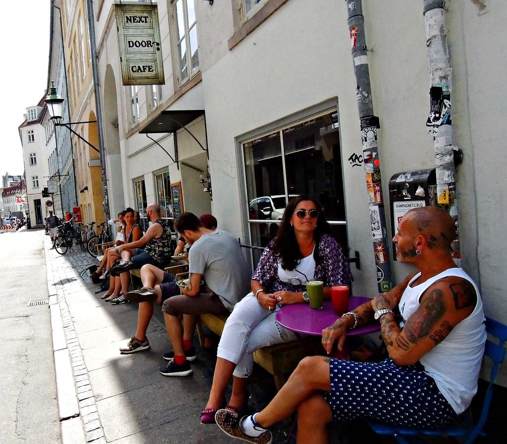Sweet street life at Next Door Cafe