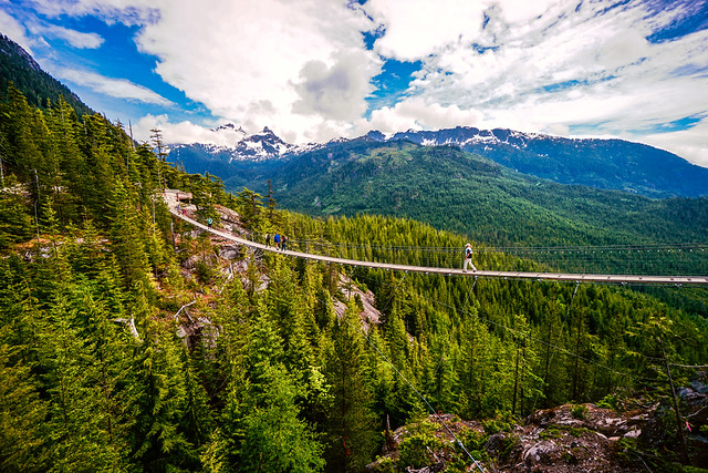 Sky Pilot Suspension Bridge (Sea to Sky Gondola)
