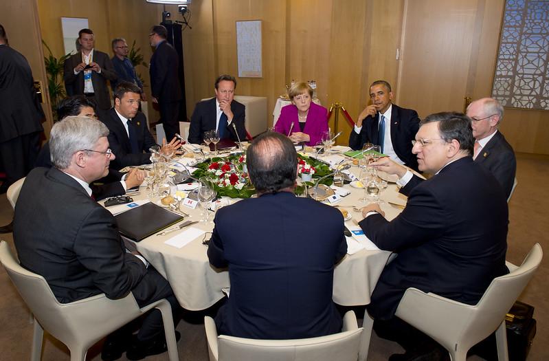 Russia ed energia nel mirino del G7 in corso a Bruxelles
