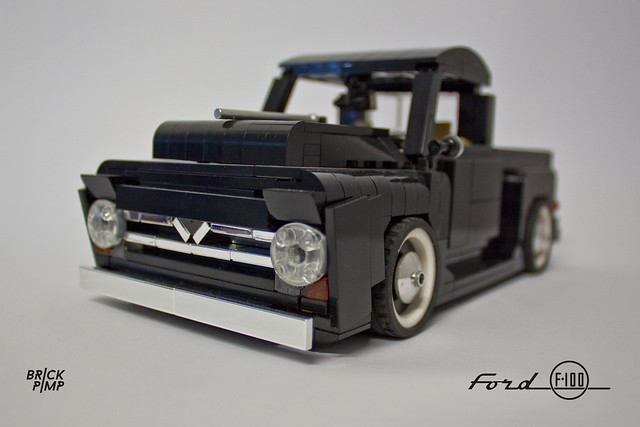 Lego Ford Full Size Car Display