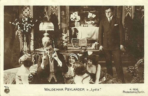 Valdemar Psilander in Lydia