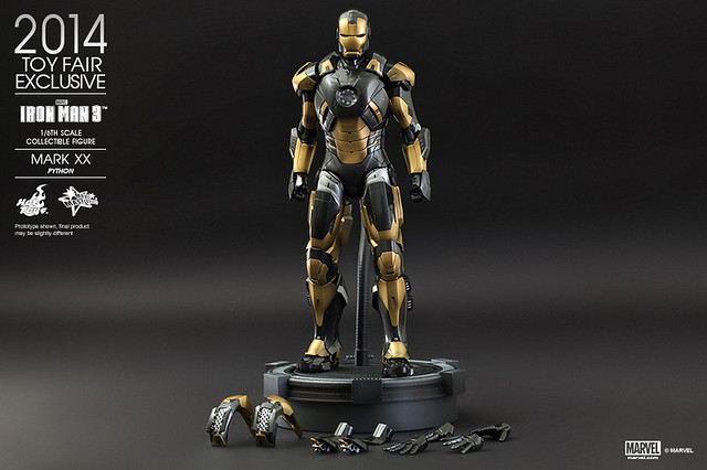 Hot Toys - Iron Man 3 - Python (Mark XX) Collectible Figure_PR13