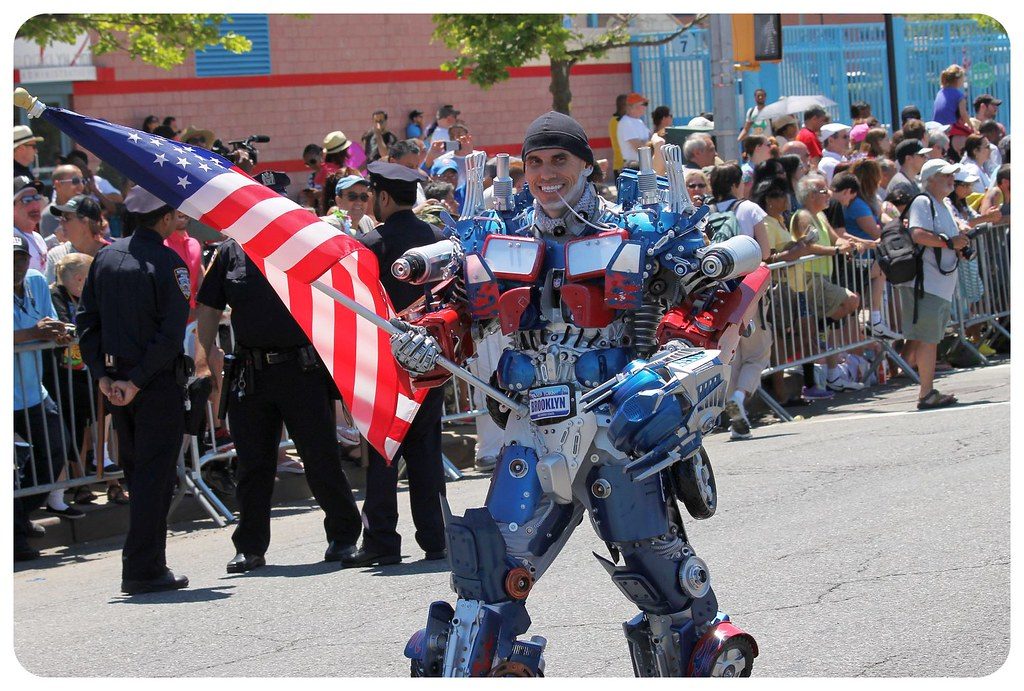 coney island mermaid parade 2014 transformer