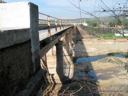 Jaén Torreblascopedro - Puente sobre el río Guadalimar Auth Gines Collado GPS 38.016756, -3.636689
