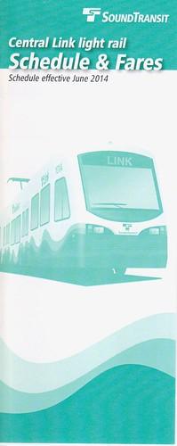 SoundTransit Central Link 2014 Cover