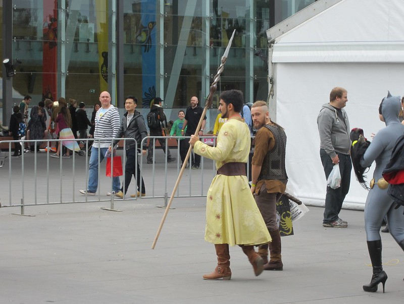 Prince Oberyn, at OzComicon 2014