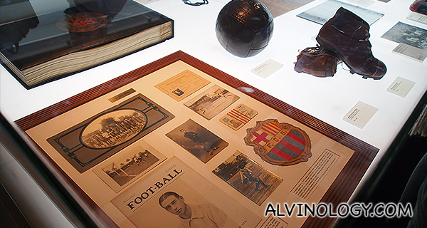 FCB historical items