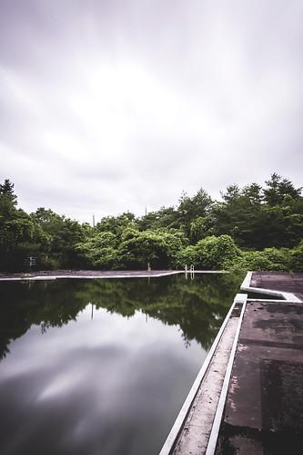 Pool abandoned