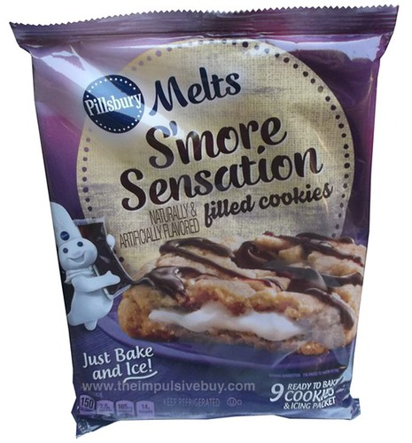 Pillsbury Melts S'more Sensation Filled Cookies