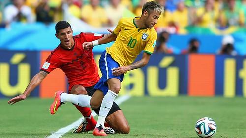 BRAZIL 0-0 MEXICO 17/06/2014