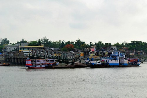 River Crossing on way to Bakkhali