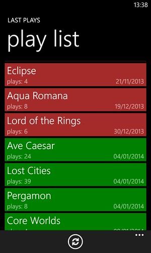 Last plays app