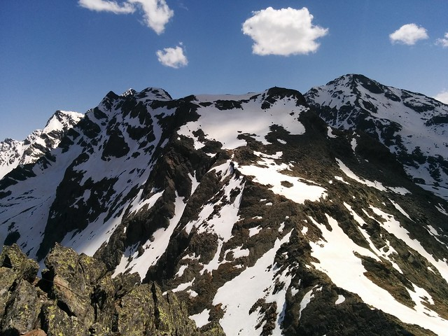 Ausblick vom Gipfel des Rauchkofel