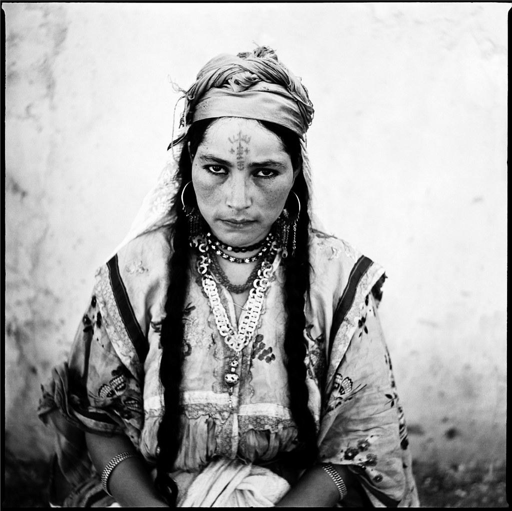Portrait de femme Algérienne