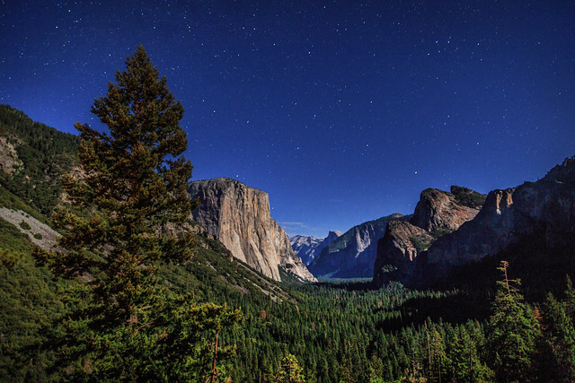 Tunnel View by Night