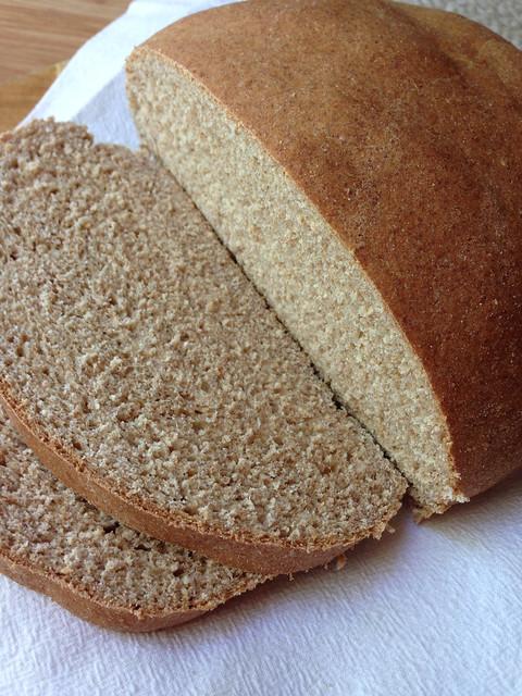 Super Easy Homemade Vegan Bread