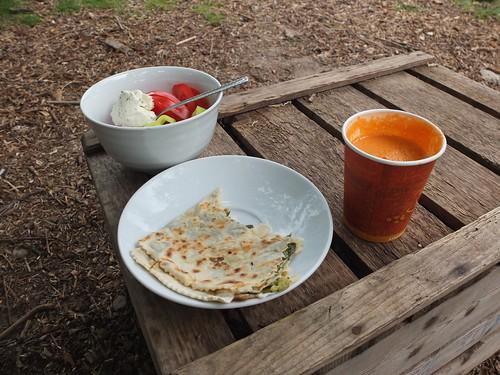 7 JUIN : Mittagessen,  Eule café