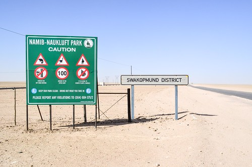 The C28 road from Swakopmund to Windhoek