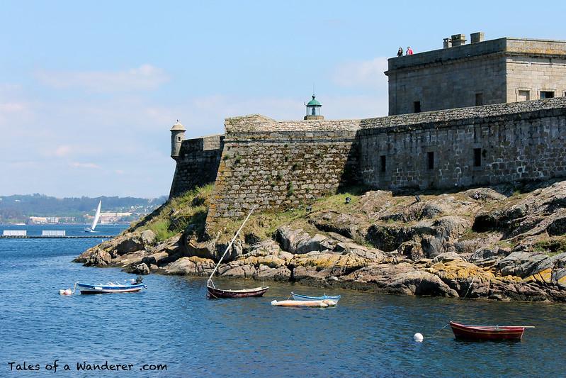 A CORUÑA - Castelo de Santo Antón