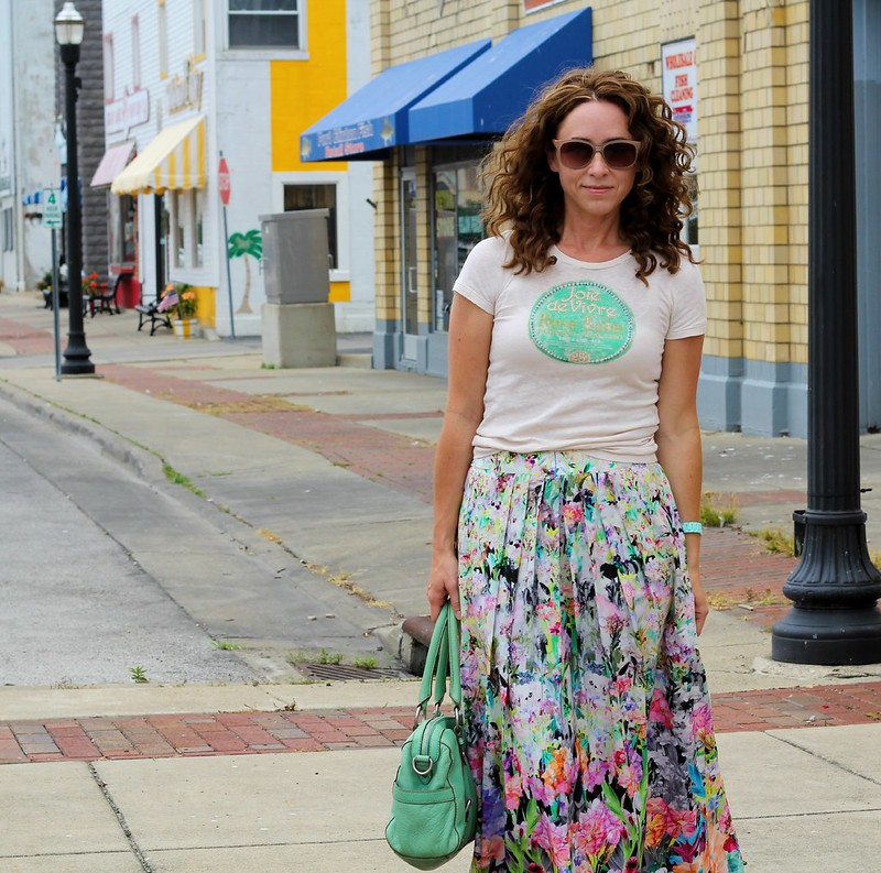 modest summer style via Kristina J blog