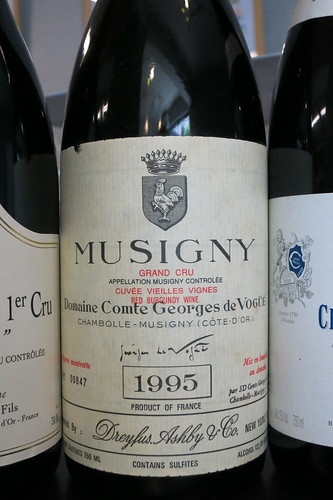 Musigny V.V. 1995, Vogue