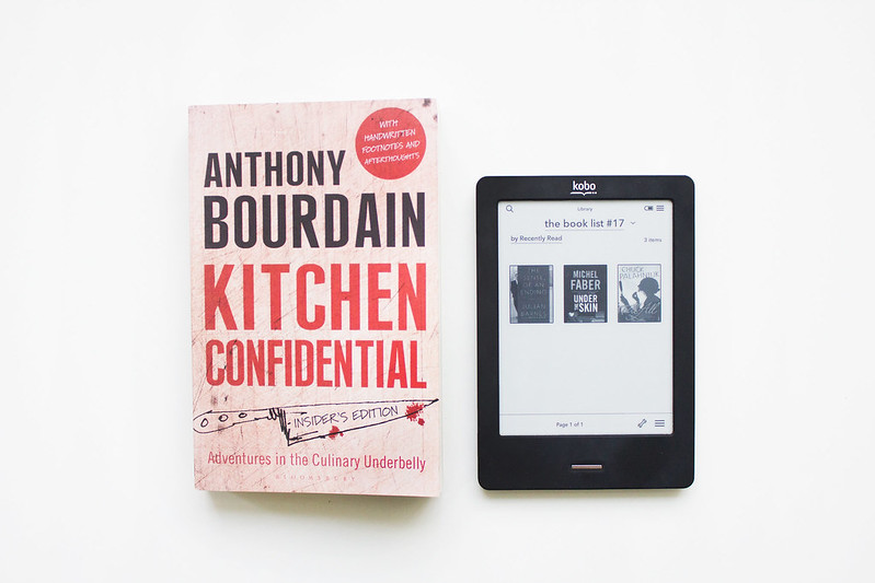 The book list 17 the private life of a girl for R kitchen confidential