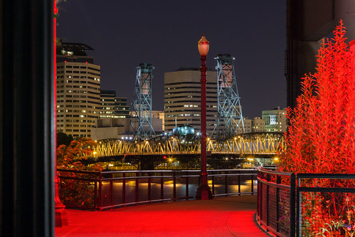 longexposure usa night oregon portland cityscape bridges rivers hawthornebridge willametteriver omsi oregonmuseumofscienceindustry canoneos550d canont2i terryfrederic topazdenoiseprocessed lightroom55