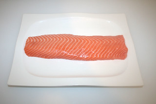 02 - Zutat Lachsfilet / Ingredient salmon filet