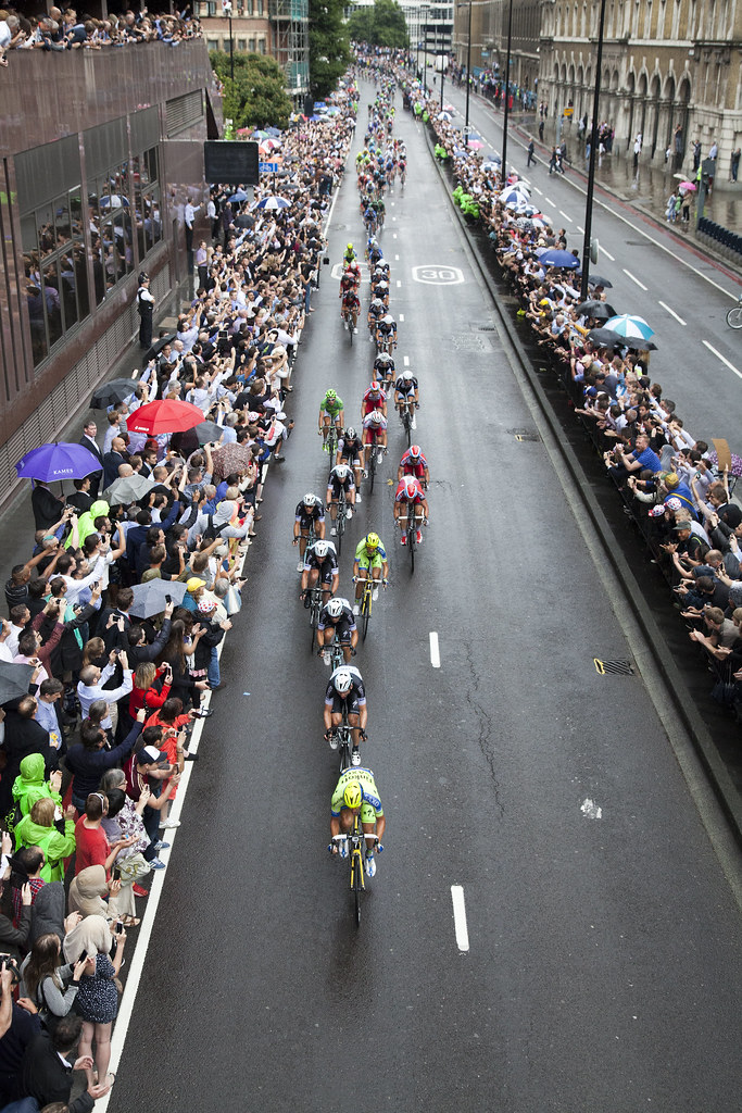 7/7/14 Cycling In The Rain || Tour de France, Stage 3