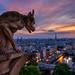 Watching Paris @ Sunset II by A.G. Photographe