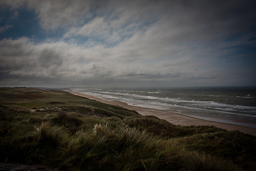 sunset sea storm canon denmark hirtshals danmark jylland cpphotofinish