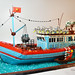 Vietnamese Fishing Boat by Hoang H Dang