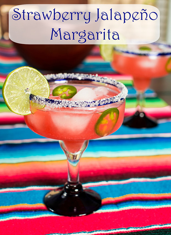 #sweetnlowstars strawberry Jalapeno margaritas