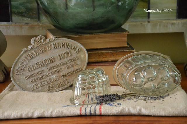 Antique French Buffet Vignette